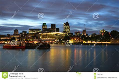 London City At Night Stock Photos - Image: 15551163