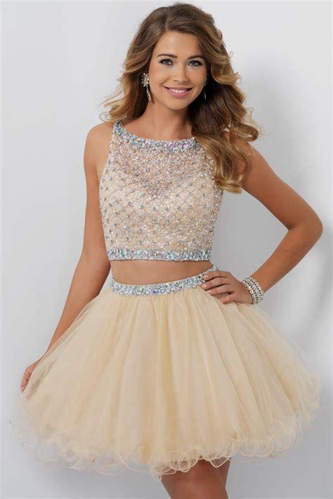 Sweet Colour Dress chagne color sweet 16 dresses wedding dress