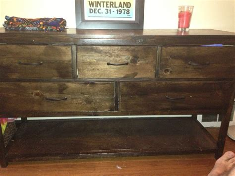 diy caign dresser ana white wide cabin dresser metal slides diy projects