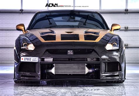 Ams Gold 35 Pelleted gold carbon nissan gtr r35 by ams performance