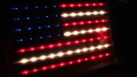 light for flag at how to a light up decorative flag