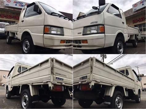 nissan vanette pick up japanese import 1991 nissan vanette 4x4 jdm rhd road legal
