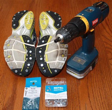 screws in running shoes yaktrax review and diy shoes the runners