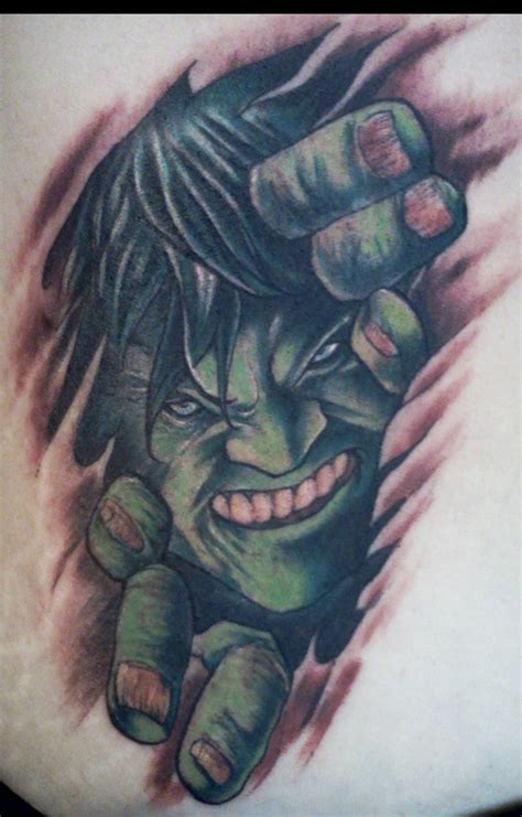 hulk tattoos by shannonritchie on deviantart