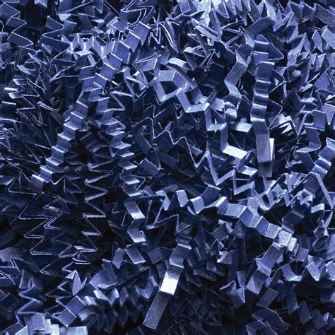 How To Make Crinkle Cut Paper - crinkle cut paper shred gift basket filler navy blue 3