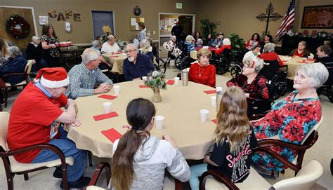 christmas nursing home nursing home residents enjoy cleburne county annistonstar