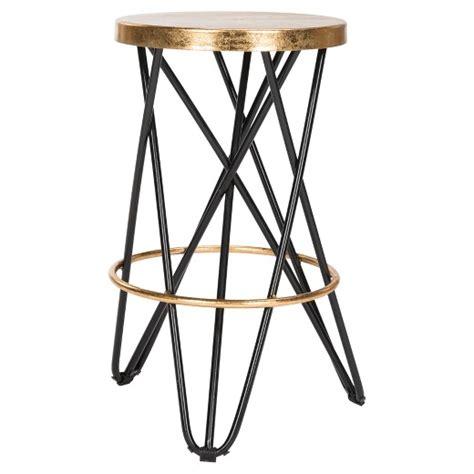 gold bar stools target lorna gold leaf counter stool safavieh 174 target