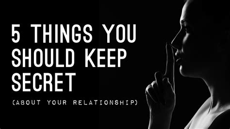 10 Things Keep Secret by 5 Best Things For How To Keep A Secret Power Humans