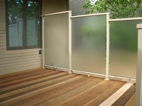 Deck Screen Wall - privacy screens for decks deck privacy screen outdoor