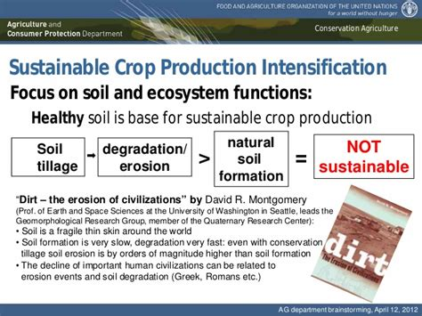 crop insurance important for ag industry washington ag conservation agriculture the base for a sustainable intensification o