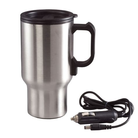 heated coffee mug heated portable coffee mug heated mug walter drake