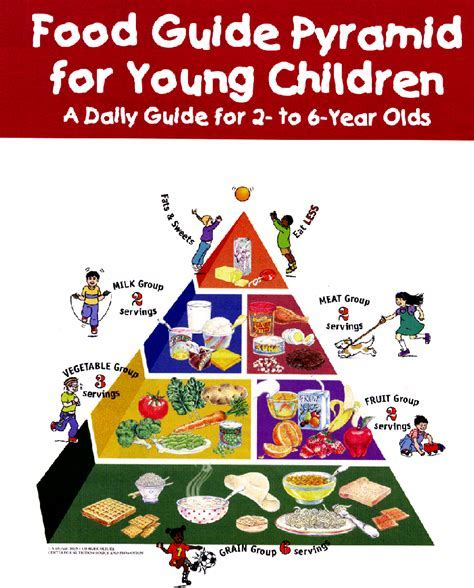 Food Guide Pyramid For Children   Goji Actives Diet
