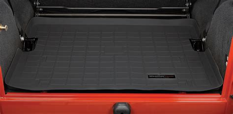 Jeep Wrangler Weathertech Weathertech Cargo Liner For 97 02 Jeep 174 Wrangler Tj