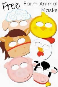 farm animal mask templates mask templates to print free farm animals masks templates