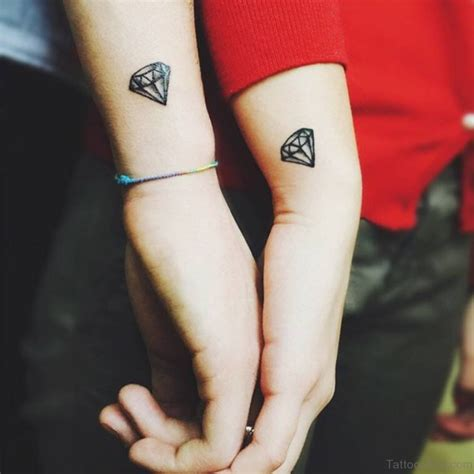diamond tattoo couple 56 diamond tattoos on wrist