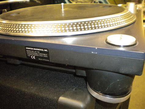 Stanton Reviews stanton magnetics st 150 new look image 21324 audiofanzine