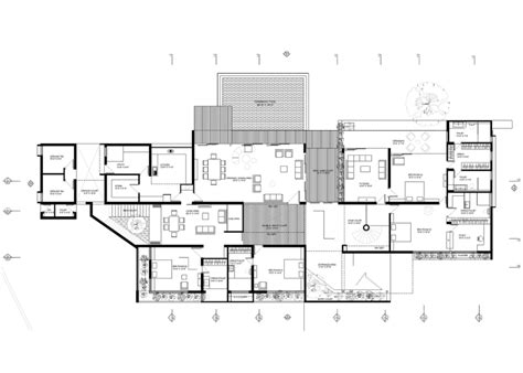 modern home floor plan contemporary house plans house plan ultra modern home