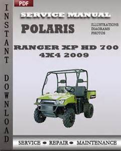 polaris atv 2005 2006 ranger 4x4 6x6 xp hd efi service