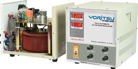 Voltage Stabilizer Listrik Yoritsu Digital 7 5 Kva 1ph photo avr 1 phasa yoritsu digital stabilizer