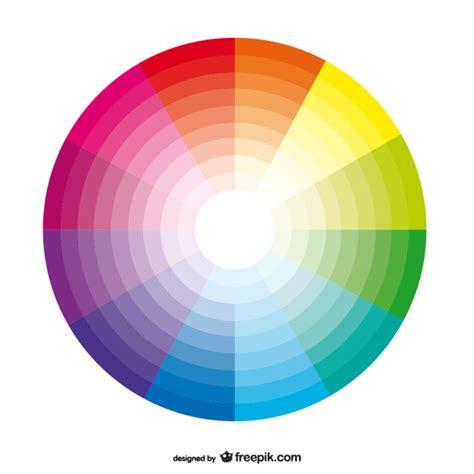 fondo con paleta de colores descargar vectores gratis