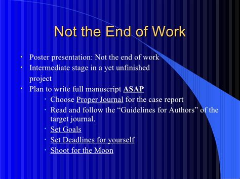how to write an abstract powerpoint