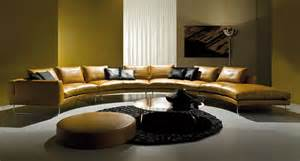 Luxury sofas round coffee table on the contemporary luxury sofas in