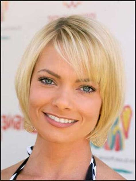 chin length haircuts for fine oily hair celebrities with short hair and bangs short hairstyles