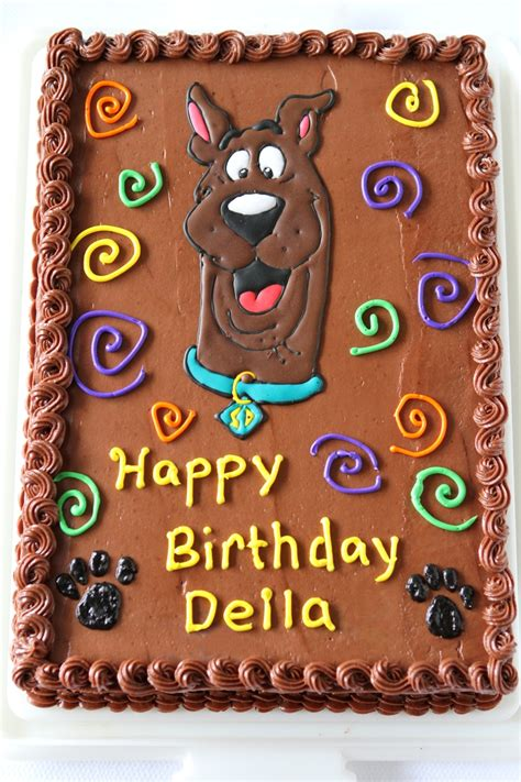 Scooby Doo Cake Template by Scooby Doo Birthday Cake Cakecentral