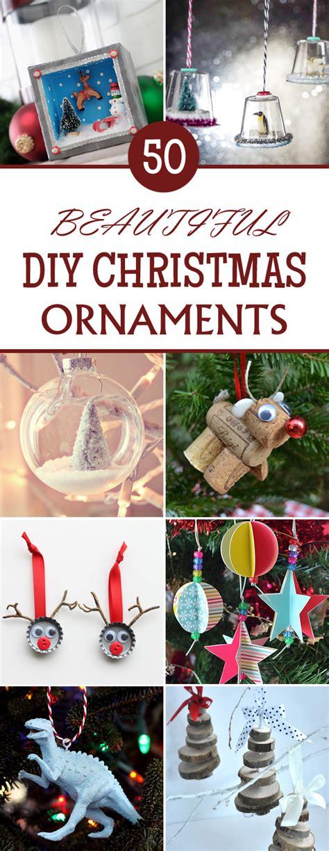 beautiful diy christmas ornaments you can mak on fabulous