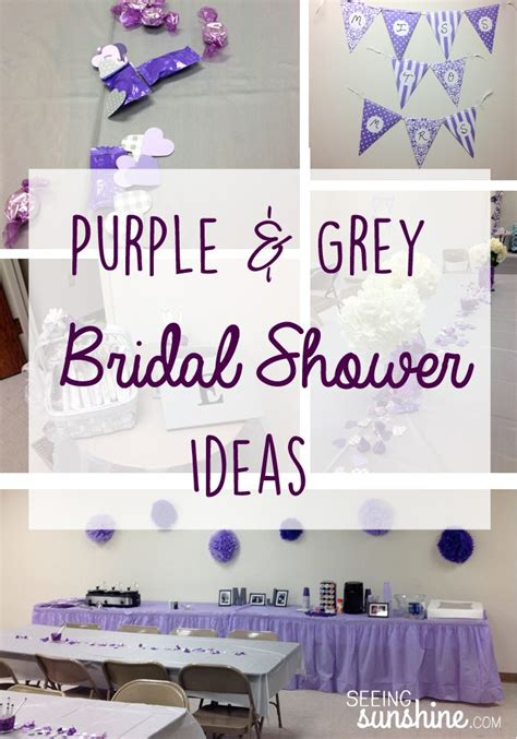 1000 ideas about purple bridal showers on