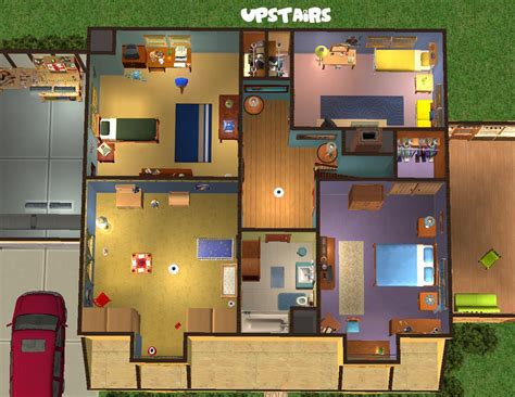 family guy house floor plan family guy house plan sims 3