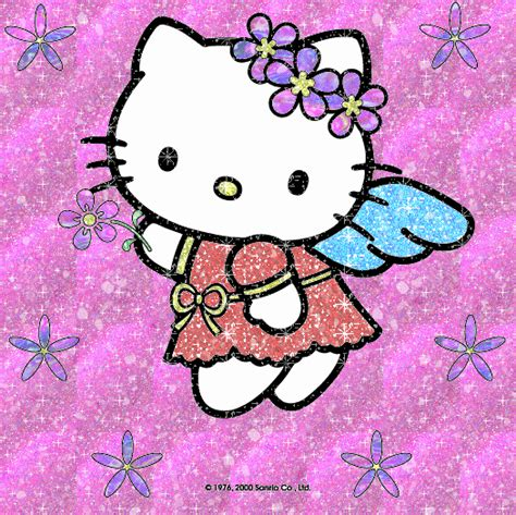 imagenes hello kitty movibles hello kitty imagenes con flores