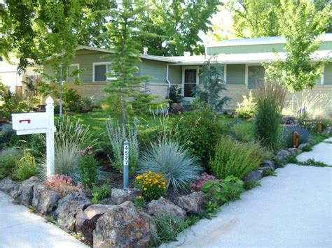 Landscaping Ideas For Front Yard Colorado Xeriscape On Landscaping Colorado Springs