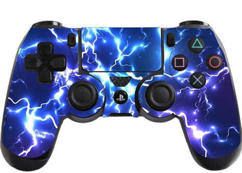 Ps4 Pro Fortnite Aufkleber by Blue Electric Playstation 4 Ps4 Controller Sticker