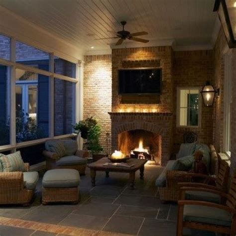 screened porch with fireplace lr on the nw corner of the house screened in porch with fireplace sun rooms and outdoor