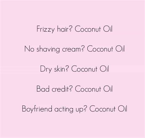 Coconut Oil Meme - coconut oil uses and benefits 183 hello boss babe
