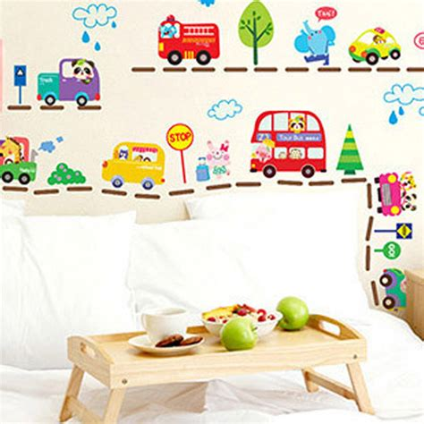 wall stickers boys room aliexpress buy 2016 sale cars traffic wall sticker baby boys room