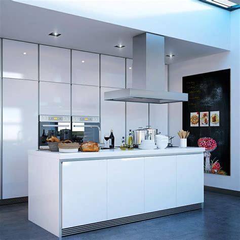 sur la table kitchen island 50 id 233 es d 238 lot central cuisine blanc de design moderne