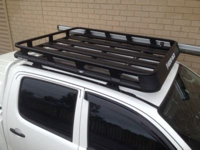 Roof Racks For Hilux Ute by Toyota Hilux 4dr Ute Dual Cab 04 05 09 15 Rhino Pioneer