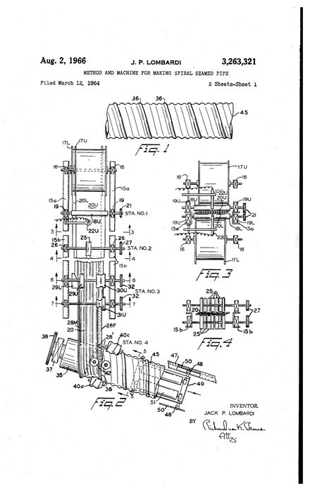 spiral pattern drawing machine patent us3263321 method and machine for making spiral