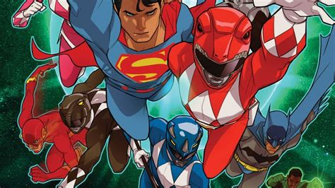 justice league power rangers jla justice league of america justice league power rangers 2 review crossover is