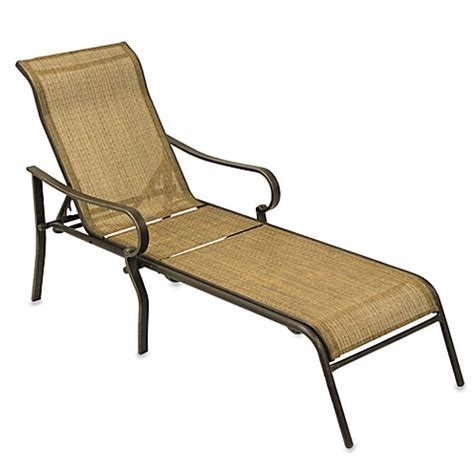 gold chaise lounge chair gold sling chaise lounge bed bath beyond