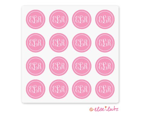 printable monogram stickers sticker printable images gallery category page 4