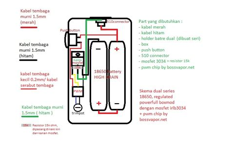 jual pwm chip untuk boxmod diy vaporizer supaya bisa