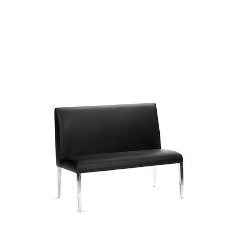 black banquette waldorf banquette black luxe modern rentals