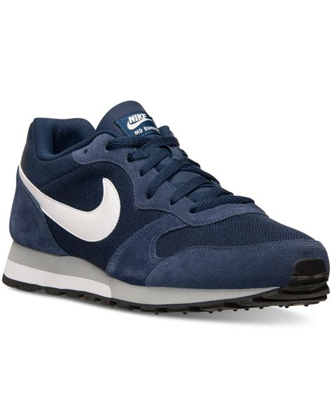 Nike Md Runner Tosca lyst nike s md runner 2 casual sneakers from finish line in blue for
