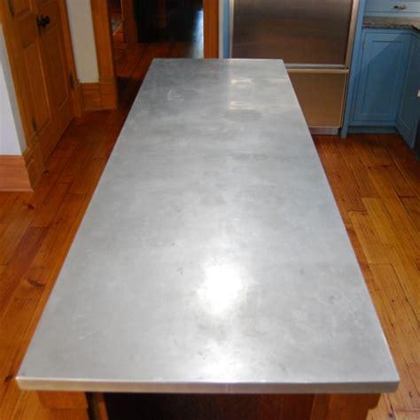 zinc sheets for table top zinc tops custom metal home