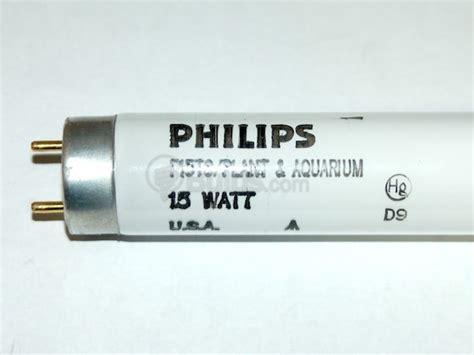 philips 15 watt 18 inch t8 plant grow fluorescent bulb f15t8 plant 18 bulbs