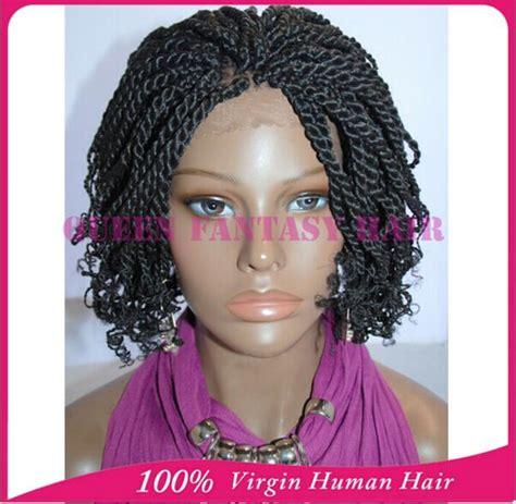 short wavy braids lace box braids short wig promotion shop for promotional