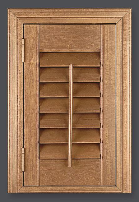 Wooden Shutters Iroko Deluxe Wood Shade Indoor Shutter Sales
